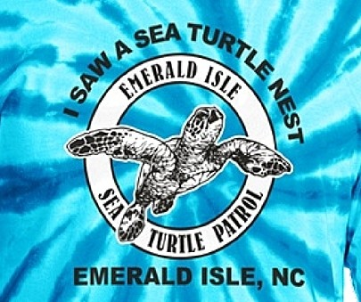 I SAW A SEA TURTLE NEST IN EMERALD ISLE NC